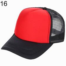 item 2 UK  Mesh Baseball Cap Trucker Hat Blank Curved Visor Hat Adjustable  Solid Color -UK  Mesh Baseball Cap Trucker Hat Blank Curved Visor Hat  Adjustable ... ce05efc1896