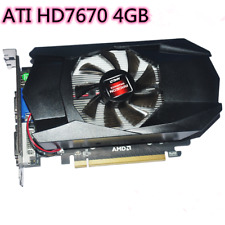 New AMD radeon 7670 4GB ddr5 PCI-E graphics card DVI HDMI VGA