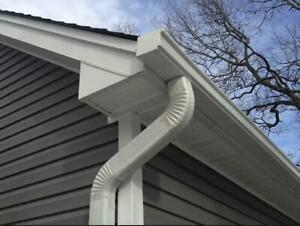 Leaking gutters getting to you? Have us Install New 5 Continuous Eavestroughing, Soffit & Fascia Edmonton Area Preview
