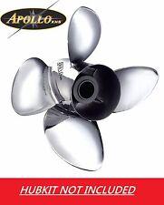 Apollo Stainless Steel 4 Blade Prop Mercruiser Alpha Bravo 1 14 1/8 x 20 993205