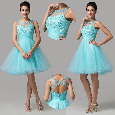 Masquerade Attire Formal Evening Homecoming Mini Dress Prom Bridesmaid Ball Gown