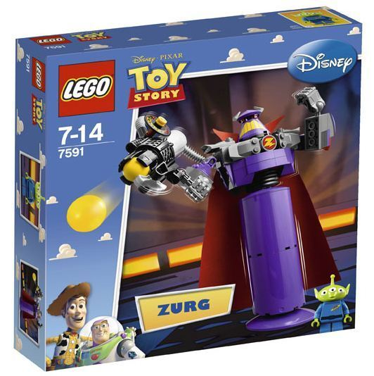 Lego Toy Story 7591 - Construye a Zurg - Nuovo and Sealed