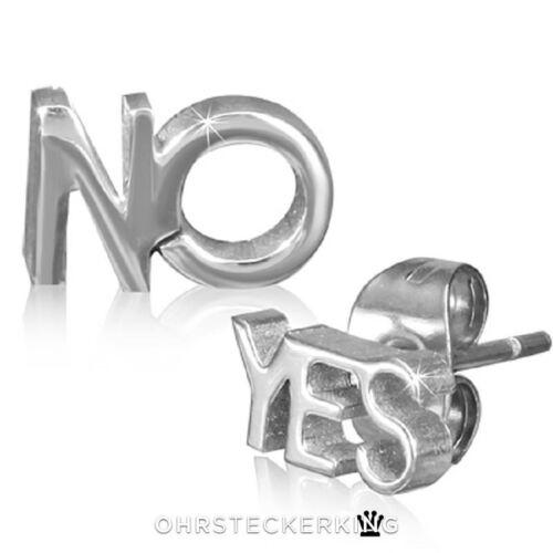 Arete yes y no de acero inoxidable NUEVO