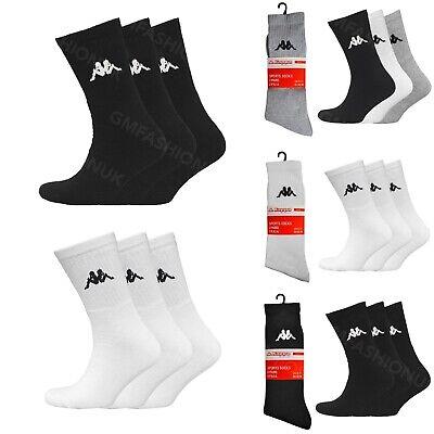 "3 Mens Mixed /""BIG FOOT/"" Active Sport Cotton Rich Trainer Liner Socks UK 11-14"