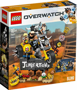 75977-LEGO-Overwatch-junkrat-amp-ROADHOG-set-380-pieces-10-Ans
