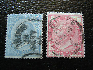 Italy-Stamp-Yvert-and-Tellier-N-17-19-Obl-A11-Stamp-Italy-A
