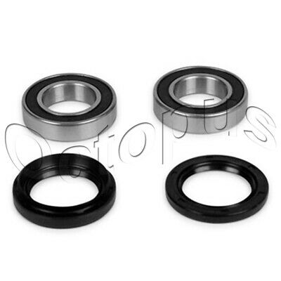 YAMAHA YFM 400 FW KODIAK ATV Bearings /& Seals Kit Both Sides Front Wheels 93-99