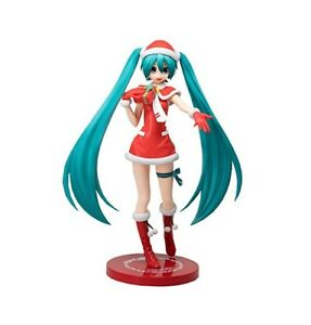 Sega Vocaloid Hatsune Miku Premium Christmas Miku Version Action Figure SG8353