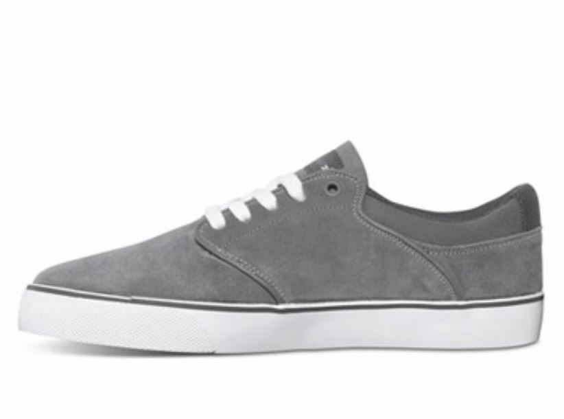DC shoes MIKEY TAYLOR VULC Mens Athletic shoes 8.5 Dk Grey Battleship NEW in BOX