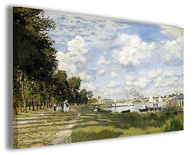 IV Quadro Moderno per Arredamento Casa Stampe su Tela Pronte Claude Monet Vol