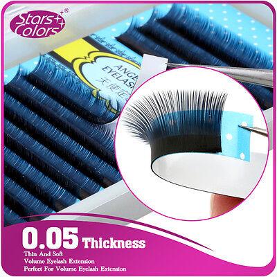 Super Thin 0.05 J/C/D Curl Fake False Lashes 3D Volume Mink Eyelashes Extensions
