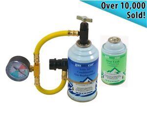 car aircon air con air conditioning gas top up recharge refill regas