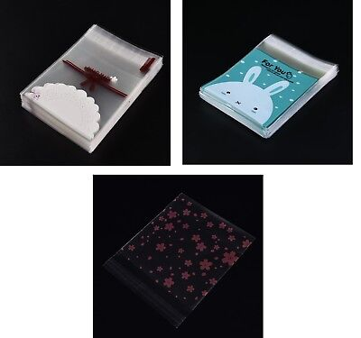 100x transparente Weihnachtsgeschenk-Beutel-Geburtstagsfeier Candys Packaging CJ