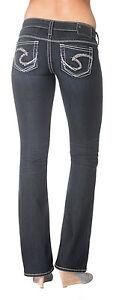 New-Silver-Womens-Jeans-Tuesday-Bootcut-24x31-25x31-25x33-26x31-26x33-27x31