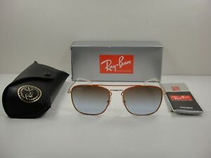 db0ea00b5a5 RAY-BAN SUNGLASSES RB3588 90612W ORANGE   GOLD BROWN GRADIENT LENS ...