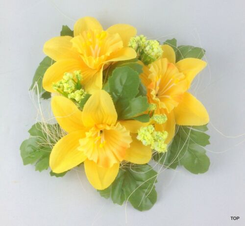 Kerzenring jaquette 2 couleurs Bougies Bijoux Flower Candle Anneaux 13 cm