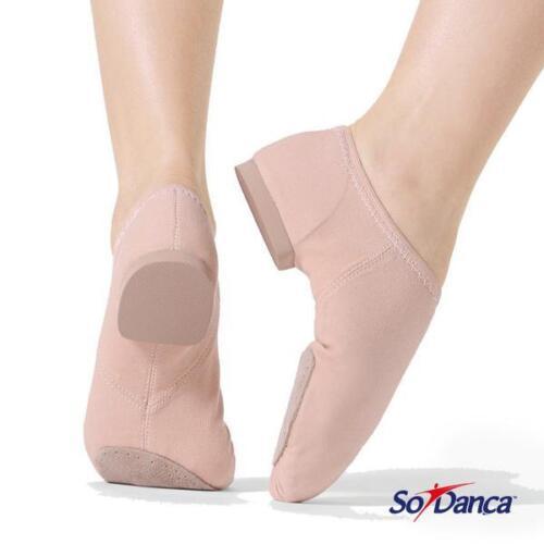 So Danca Canvas Stretch Jazz Split Sole Shoe SALE 20/% OFF