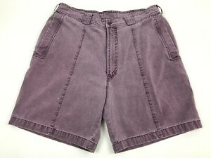 Vtg-90s-WOOLRICH-men-039-s-Wine-hiking-outdoor-shorts-36-camping-3573