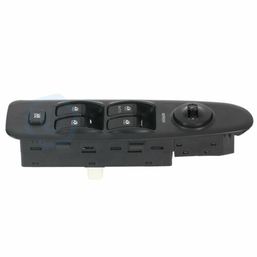 Master Power Window Switch Black Front Driver Side for 01-06 Elantra New