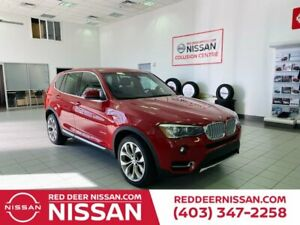 2015 BMW X3 XDRIVE28I | HEATED LEATHER SEATS | AUTOMATIC TRUNK RELEASE | TWO DRIVER'S MEMORY SEAT SETTINGS |