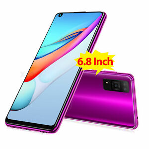 """6.8"""" Cheap Android 9.0 Cell Phone Factory Unlocked Smartphone Dual SIM for AT&T"""