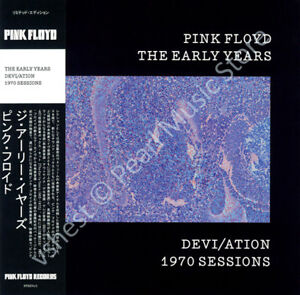 PINK FLOYD THE EARLY YEARS: DEVI/ATION 1970 SESSIONS CD MINI LP OBI