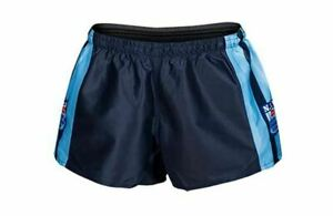 NSW-Blues-State-Of-Origin-Classic-Hero-Footy-Shorts-Size-S-4XL-Heritage-Logo