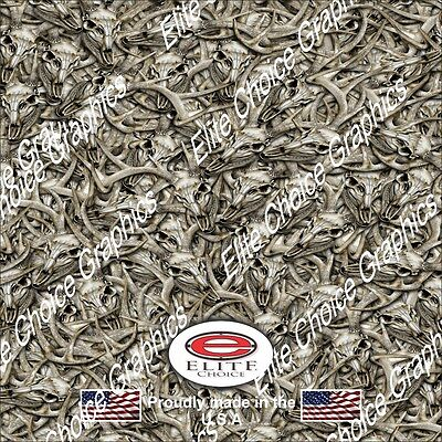 """Leopard Print CAMO DECAL 3M WRAP VINYL 52/""""x15/"""" TRUCK PRINT REAL CAMOUFLAGE"""