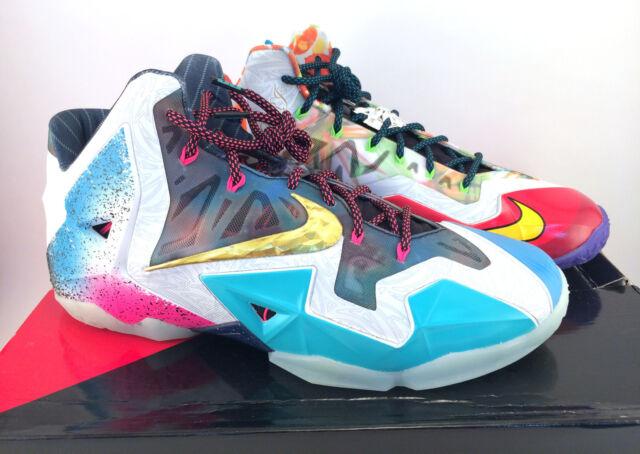 quality design 57e1a 5e5f8 Nike Lebron XI Premium What The Lebron Size 12 650884 400