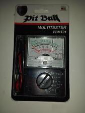 Multimetro analogico Tester Amperometrico Ohm ACV DCV
