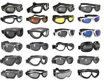 Value Line Goggles from Makers of KD Biker Sunglasses Goggle All Styles Colors