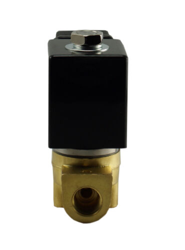 Brass Direct Directing Fast Response Electric Solenoid Valve NC 24V AC 3//8 Inch