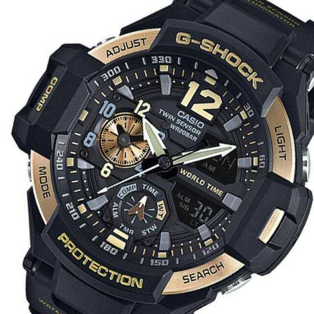 249a48831efa NEW MEN'S CASIO G-SHOCK GA-1100-9G SKY COCKPIT GRAVITYMASTER WATCH WITH