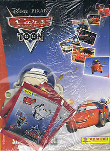 Cars Toon Disney Album Vuoto Panini