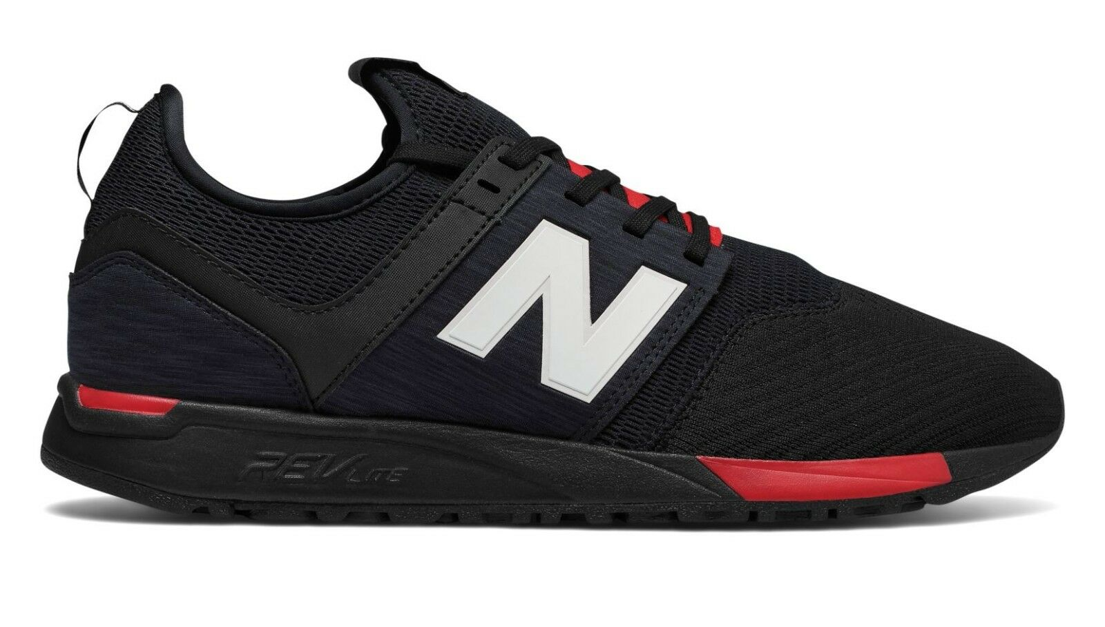 New Balance Men's 247 CLASSIC shoes Black Red MRL247BC c