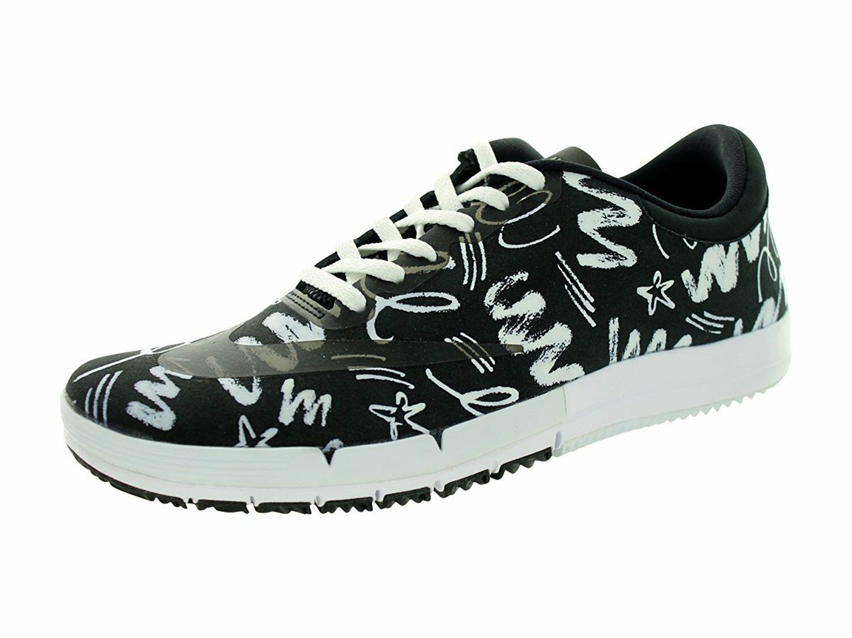 Nike Men's Free 12 SB Prm Skateboarding Shoe Size 12 Free (743184-002) BLACK/WHITE c69d47