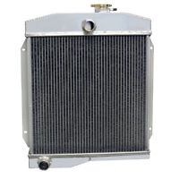 Aluminum Radiator Top 3row Core Alloy For 55 56 57 58 Jeep Willys Flathead