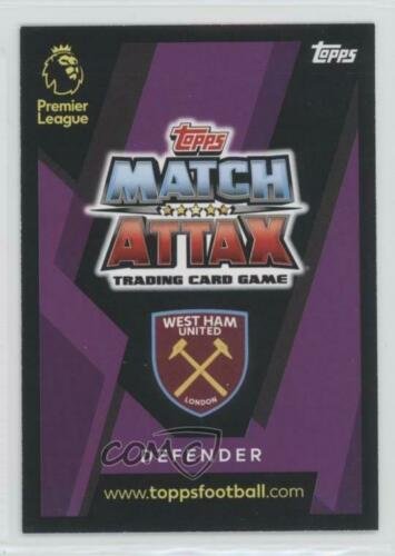 2018 2018-19 Topps Match Attax English Premier League #332 Ryan Fredericks tarjeta