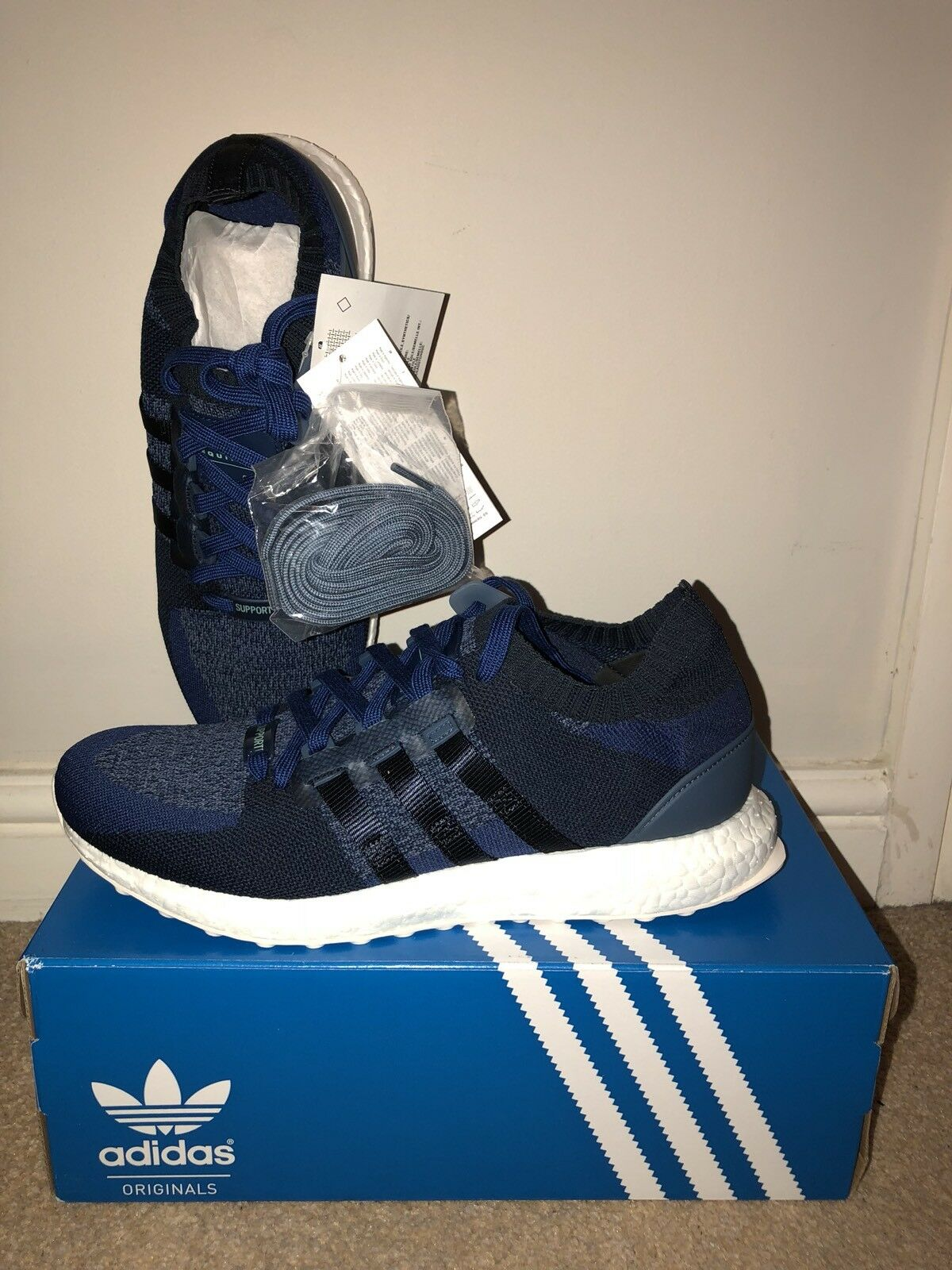 Adidas EQT Support Ultra PK x SNS Exclusive Trainers Consortium UK9 Ultra Consortium Trainers Navy 648d20