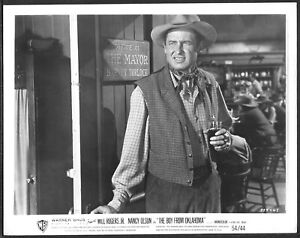 Western-Will-Rogers-Jr-The-Boy-from-Oklahoma-ORIGINAL-1950s-Photo