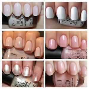 Image Is Loading Opi Mini Bridal French Manicure Nail Varnish Collection