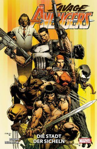 Die Stadt der Sicheln Savage Avengers 1 Variant