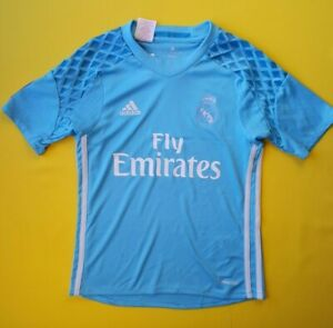 7db72f845 4.7 5 Real Madrid kids jersey 9-10 years 2016 shirt AI5177 soccer ...