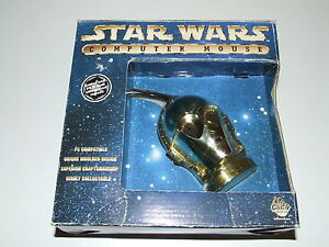 Amical Star Wars C3po Computer Mouse New Old Stock Collectable