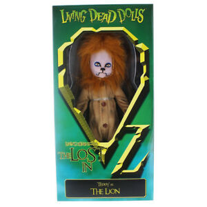 Living-Dead-Dolls-Lost-In-Oz-Teddy-as-The-Lion-10-034-Doll