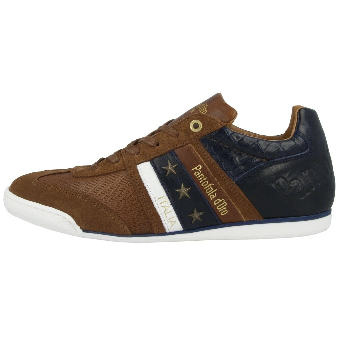 Pantofola D gold Imola Crocco men Low Ascoli shoes Sneaker Shell 10191029.JCU