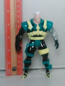 1994-Marvel-Toy-Biz-The-Uncanny-X-Men-X-Force-Deep-Sea-Cable-Action-Figure-Green