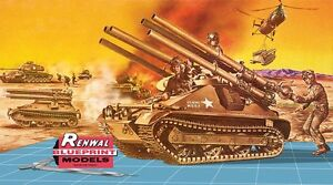 Chasseur de chars US M-50 ONTOS, Vietnam 1968  - Kit Renwall 1/32 n? 85-7823