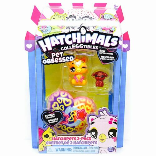 Draggle /& Puppy Orange Hatchimals Colleggtibles Pet Obsessed Hatch Hearts