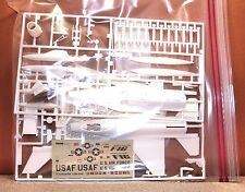 1/72 MONOGRAM F-16 FIGHTER BAGGED MODEL KIT # 5200